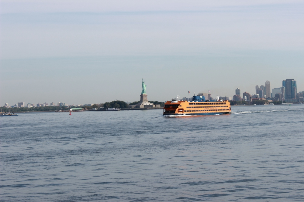 Lady Liberty desde Ferry
