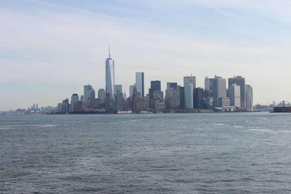 Skyline desde Ferry