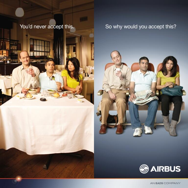 Airbus Asientos