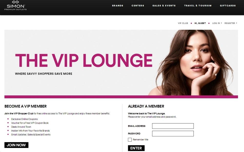 Premium Outlet VIP
