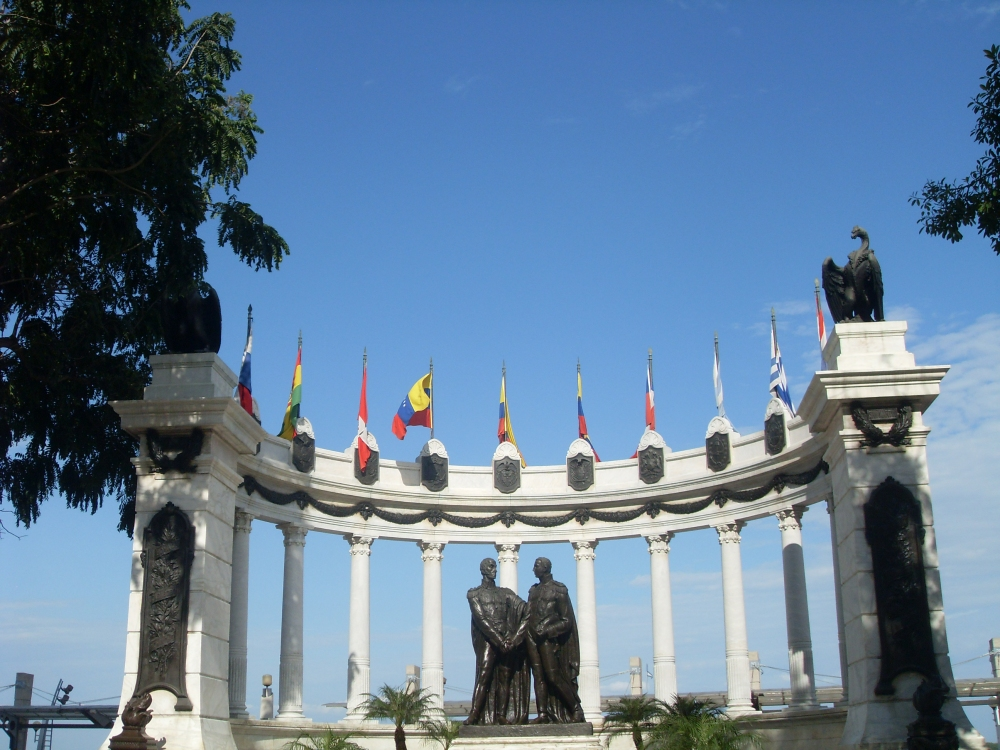 Monumento Bolivar San Martin