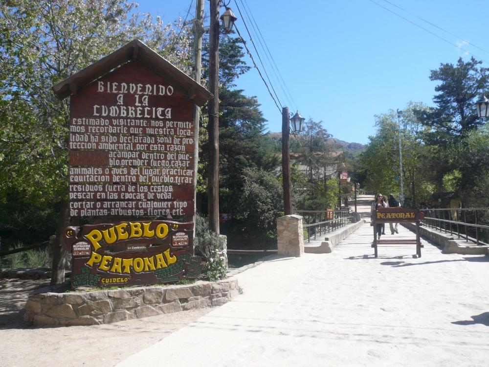 Entrada La Cumbrecita