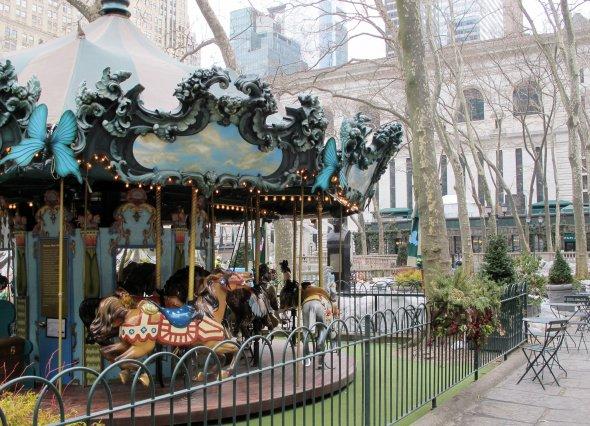 Bryan Park Carousel