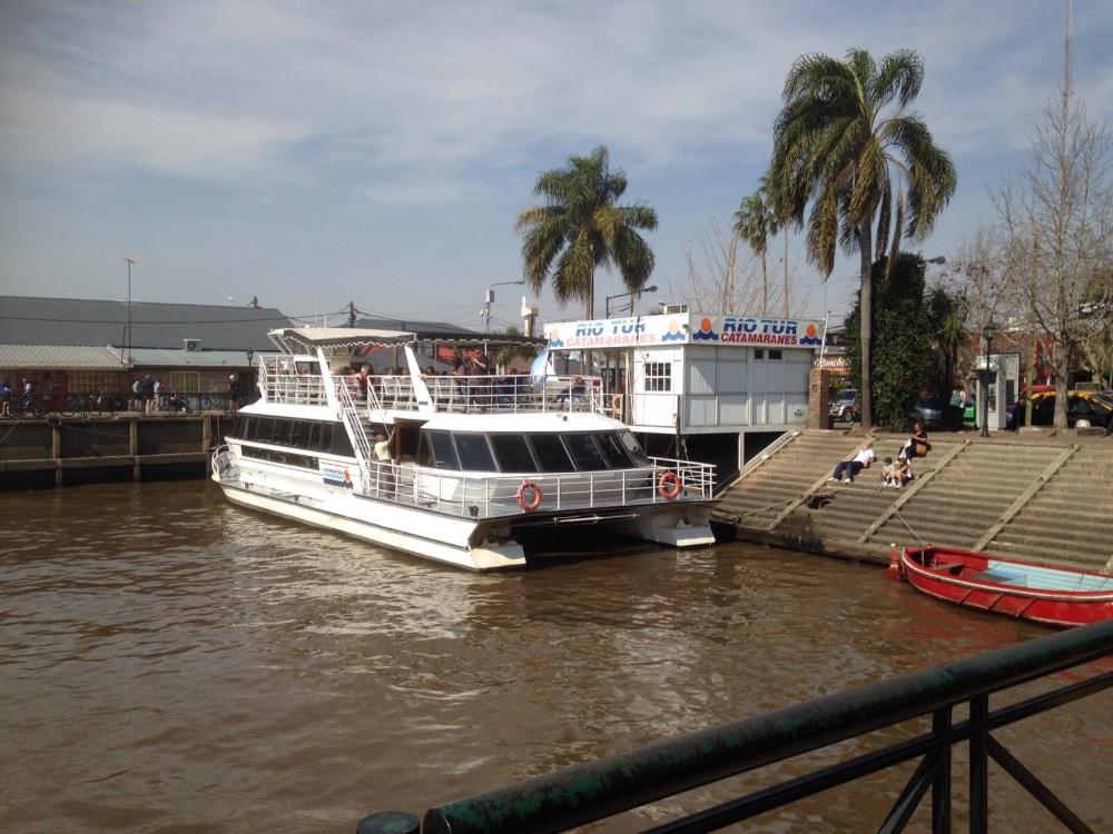 Puerto de Frutos Catamaran