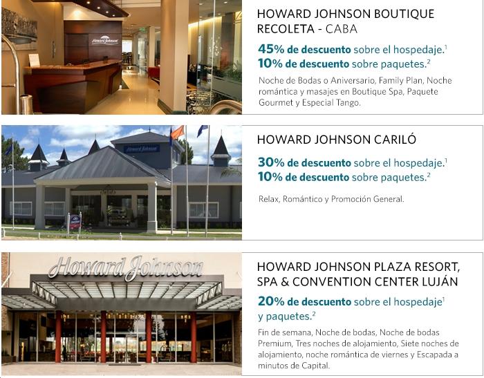 Visa HoJo Hoteles