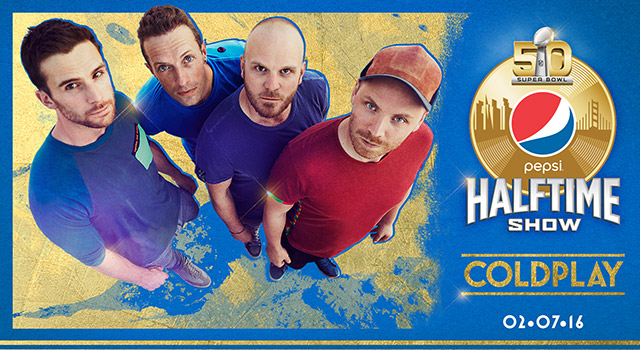 Coldplay Halftime Super Bowl 50