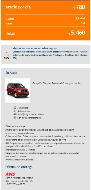 Rent a Car AlMundo