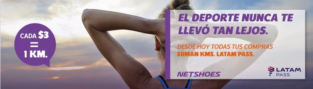 Netshoes LATAM Pass