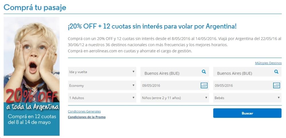 Aerolineas Banco Hipotecario Promo