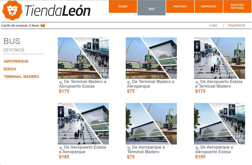 Aerolineas Tienda Leon