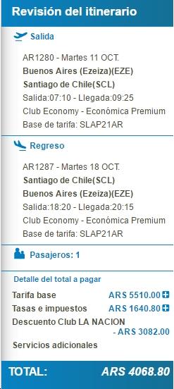 AR Club LN 50 dto BUE SCL
