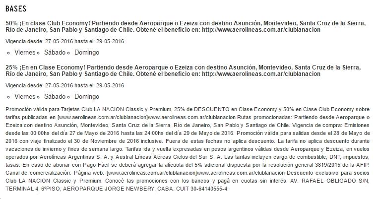 AR Club LN 50 dto letra chica
