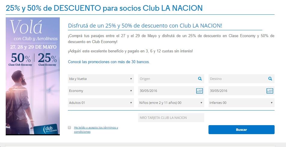 AR Club LN 50 dto pagina