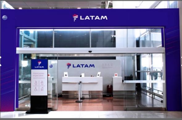 LATAM aeropuerto