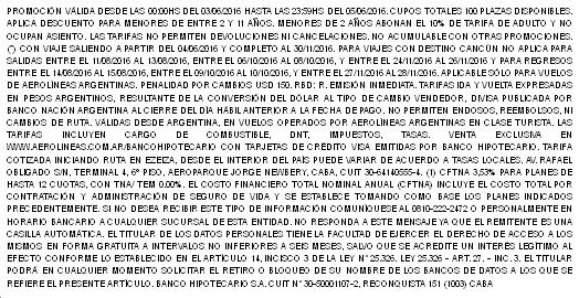 AR Hipotecario Letra Chica
