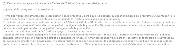 Santander AA 2