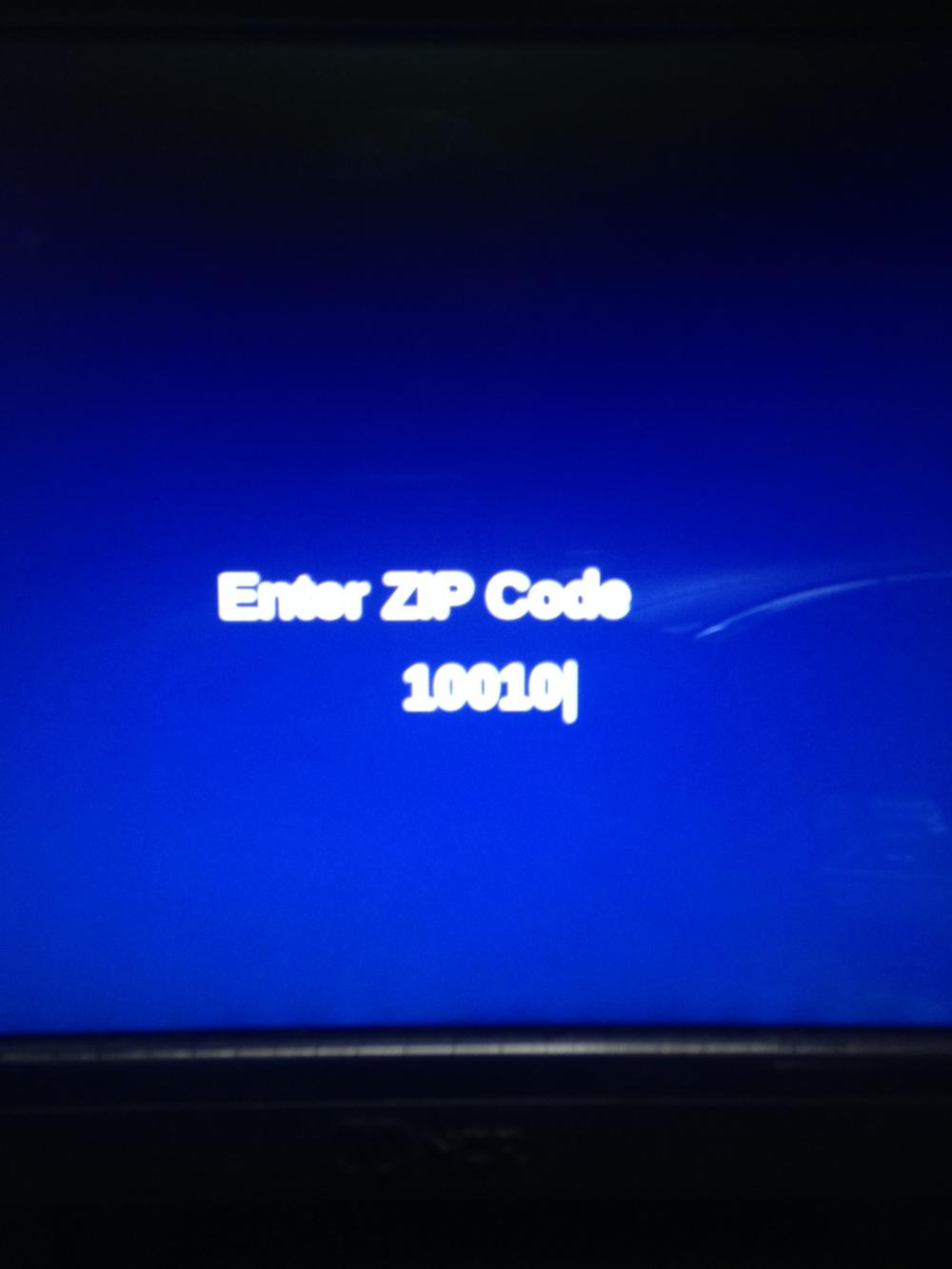 Combustible ZIP Code