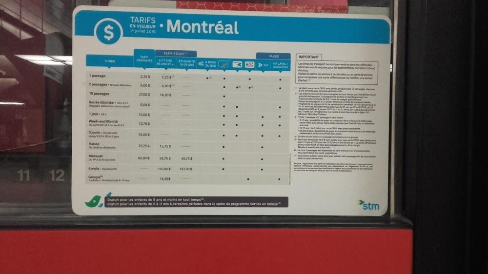 Metro Montreal 8